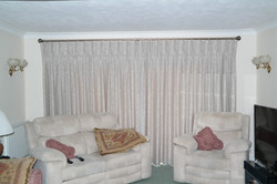 Triple Pleated Interlined Curtains
