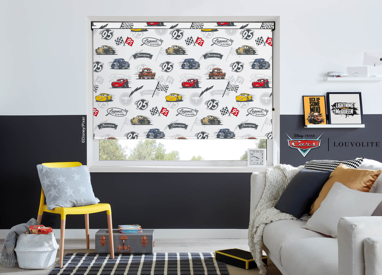 Cars Roller Blinds
