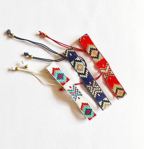 Sequin Aztec Indian Bracelet Anklet