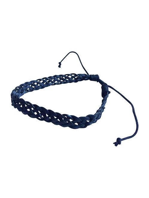 Celtic Knot Leather Plait Bracelet