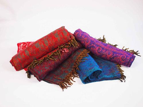 Paisley Oversized Scarf Shawl Blanket