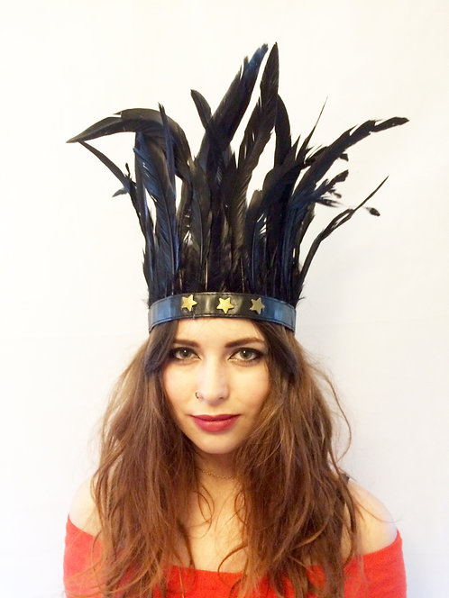 Festival Star Feather Headband