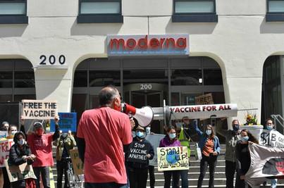 Moderna Protest