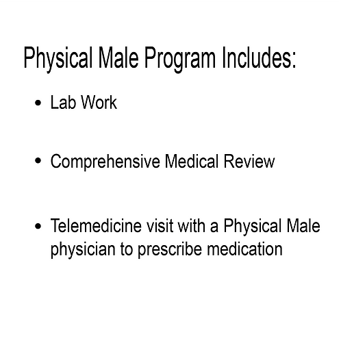 Physical Male Program