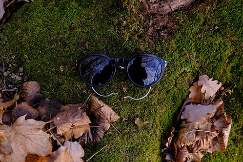 Koloman Herman Buhl schwarz Sonnenbrille unisex