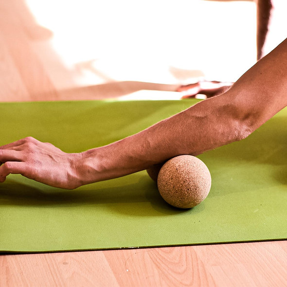 Siya Massage Doppelball Kork
