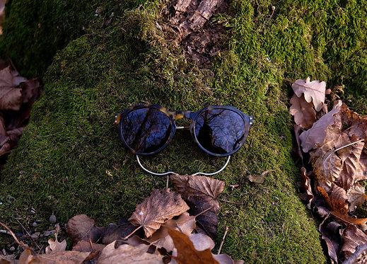 Koloman Herman Buhl braun Sonnenbrille unisex