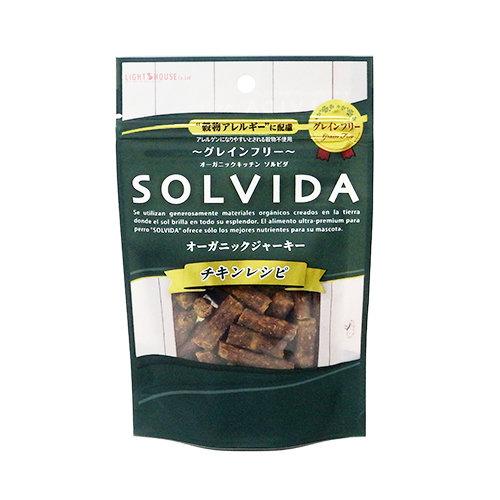 ソルビダ オーガニックジャーキー チキンレシピ 85g