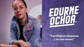 """""""Las mujeres llegamos y no nos vamos"""" Edurne Ochoa"""