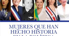 Mujeres que han hecho historia en la Política