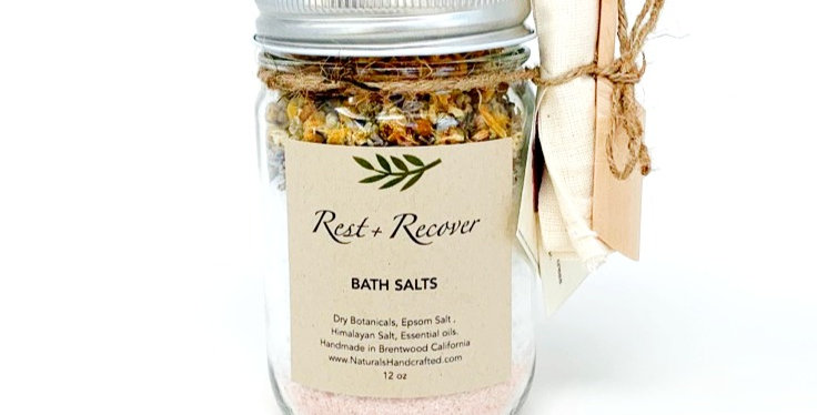 Rest & Recover   Bath Salts