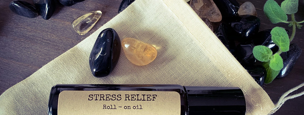 STRESS RELIEF Roll - On Oil Blend