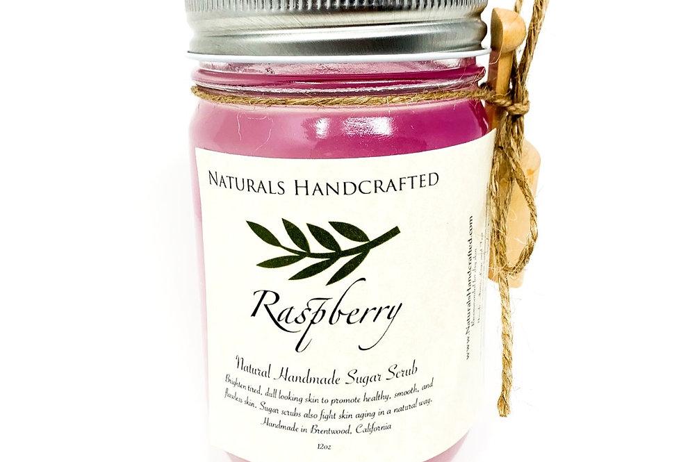 Hands & Body Polish   Sugar Scrub   Raspberry