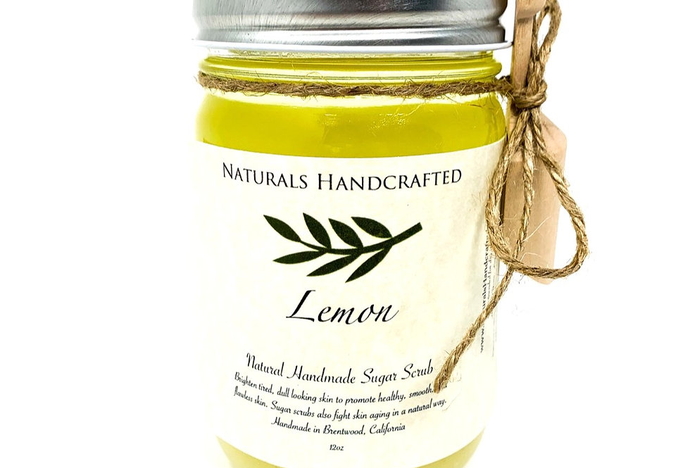 Hands & Body Polish   Sugar Scrub   Lemon