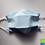 Thumbnail: Community Mask, certifié selon les Directives de l'OFSP, bleu, à l'unité