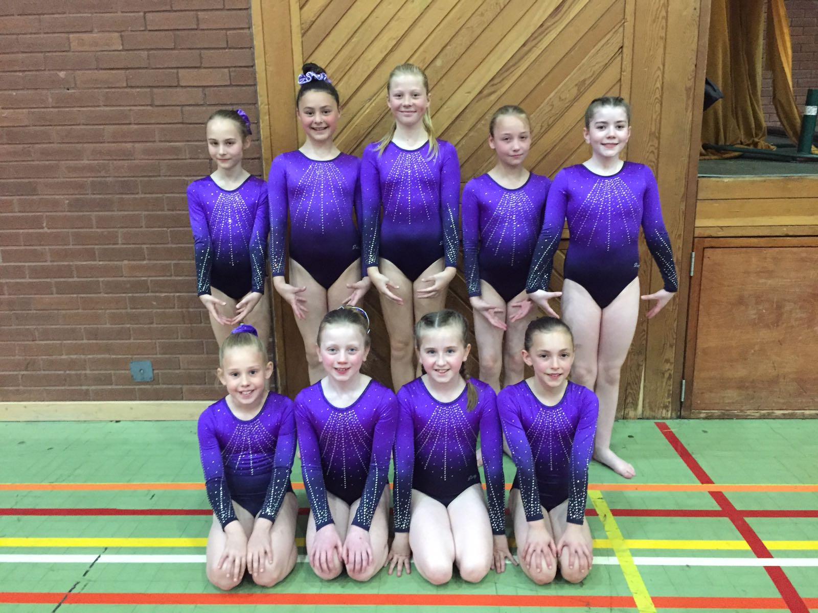 Novice Intermediate gymnasts