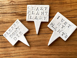 fun plant signs