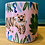 Thumbnail: Handmade and handpainted small plant pot