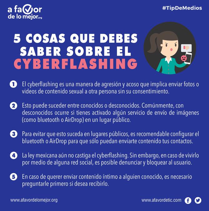 5 cosas que debes saber sobre el cyberflashing