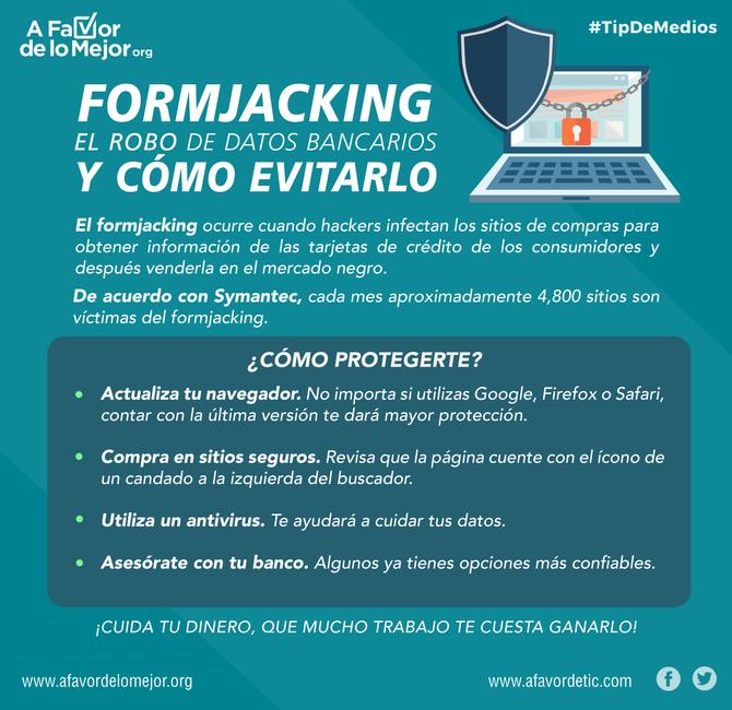Formjacking: El robo de datos bancarios y cómo evitarlo