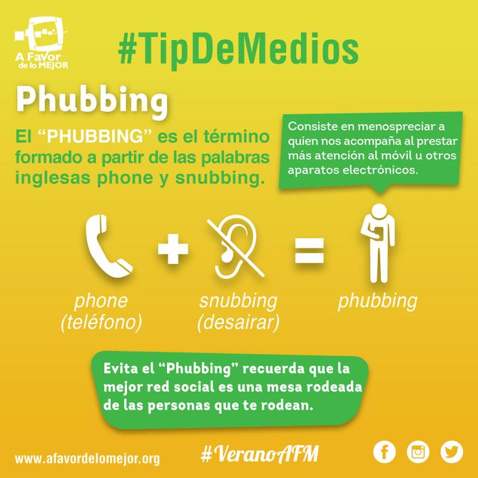 ¿Qué es el Phubbing?