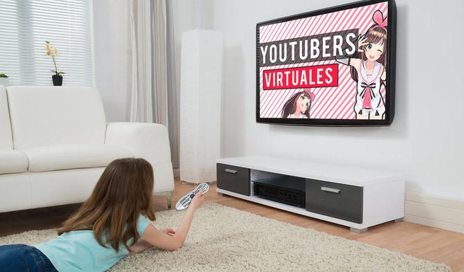 Pregunta: Mi hija ve youtubers que son dibujos animados, ¿cómo funciona esto?