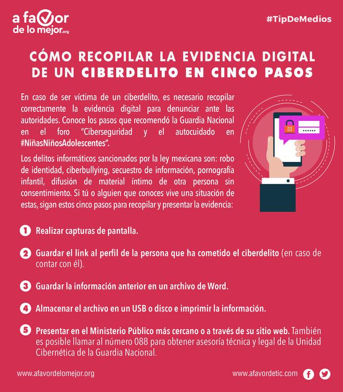 Cómo recopilar la evidencia digital de un ciberdelito en cinco pasos