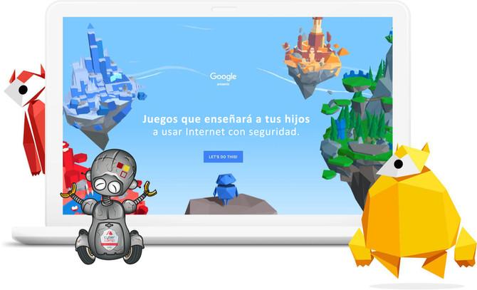 5 juegos que enseñará a tus hijos a usar Internet con seguridad.