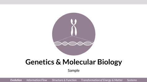 JV_Powerpoint Template_Genetics & Molecu
