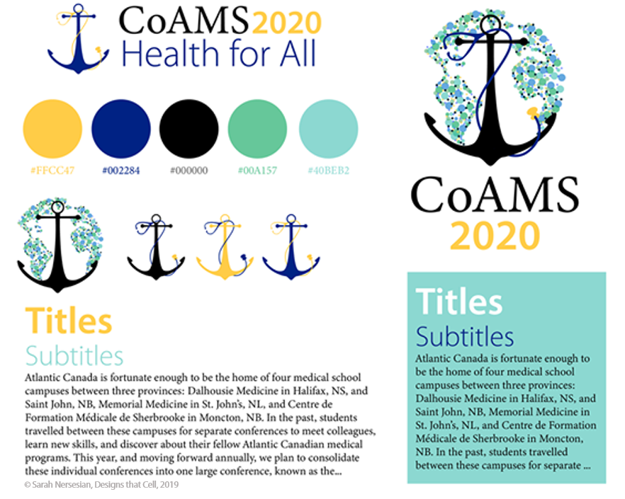 CoAMS 2020 Branding Package