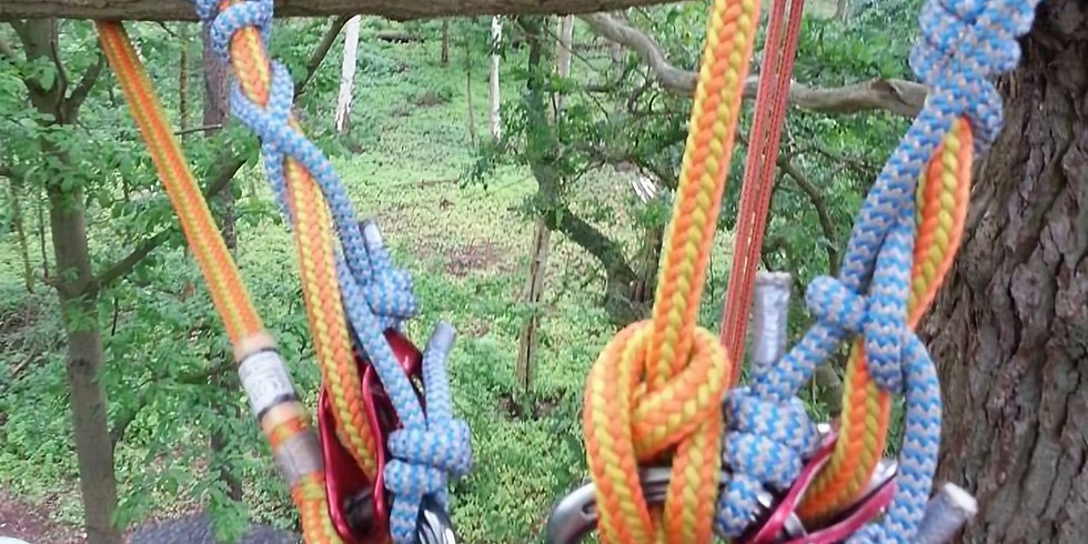 Chainsaw from a Rope & Harness