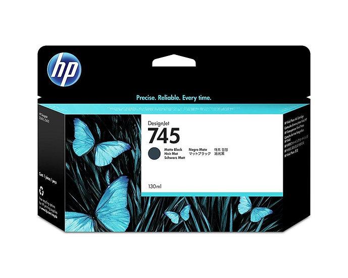 HP 745 130-ml Matte Black Ink Cartridge For Z2600 / Z5600