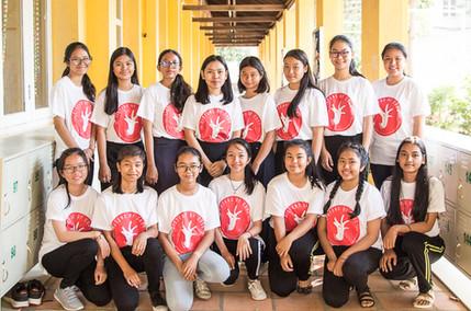 Sisters of Code at New Generation School, Phnom Peh, Cambodia