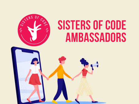 Join Sisters of Code Ambassador program!