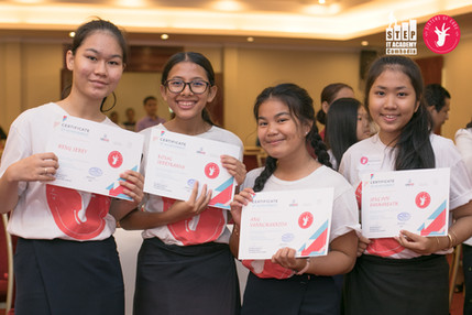 Certificates of Achievements for successful students