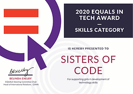 EITA 2020 winner certificate signed - SK