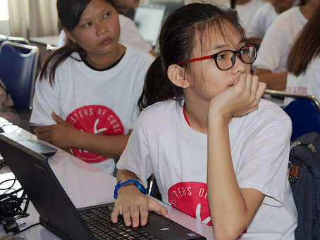 Coding for girls an opportunity