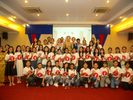 Graduation event of Sisters of Code