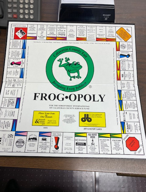 Frog opoly