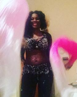 London belly dancer Samba uk