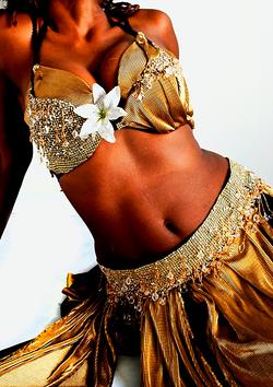 Belly dancer show london