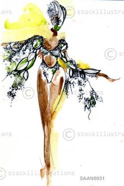 London samba dancer