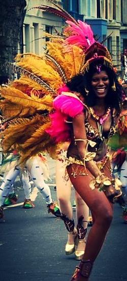 Samba Brazilian performer uk