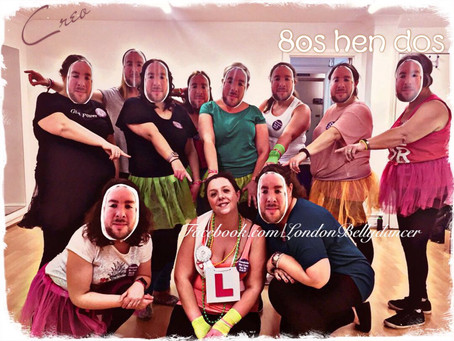A few dance hen party images, ex-clients