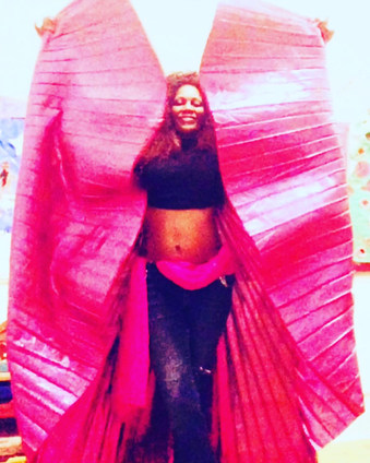 Sandrine belly dance performer in London UK