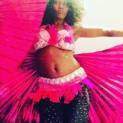 Belly dancer sandrine Paris London