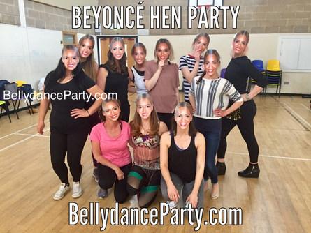 Beyonce single ladies hen do