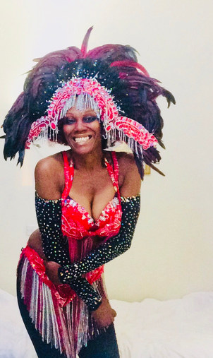 Oxfor Kent samba dancer