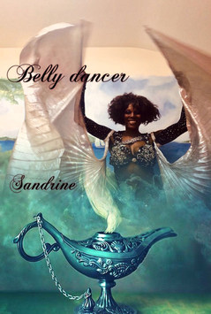 UK belly dancer Sandrine