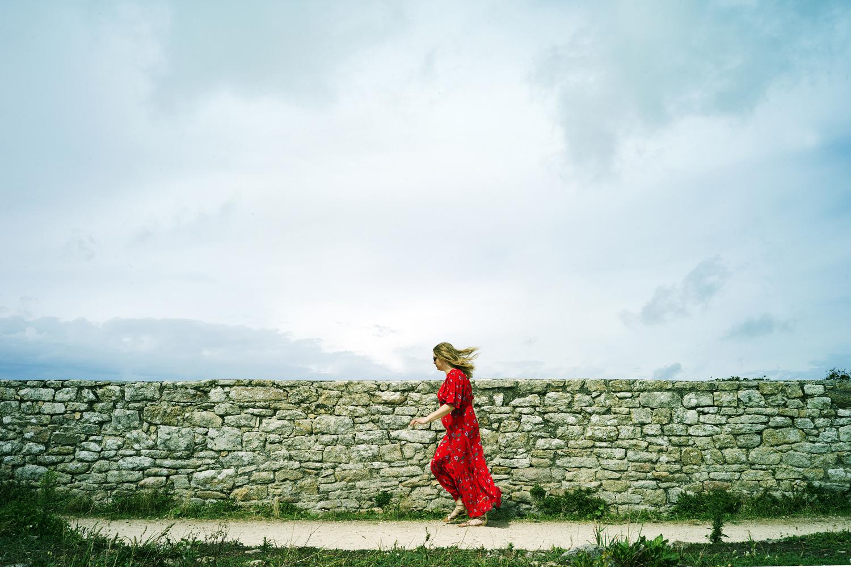 La fille rouge